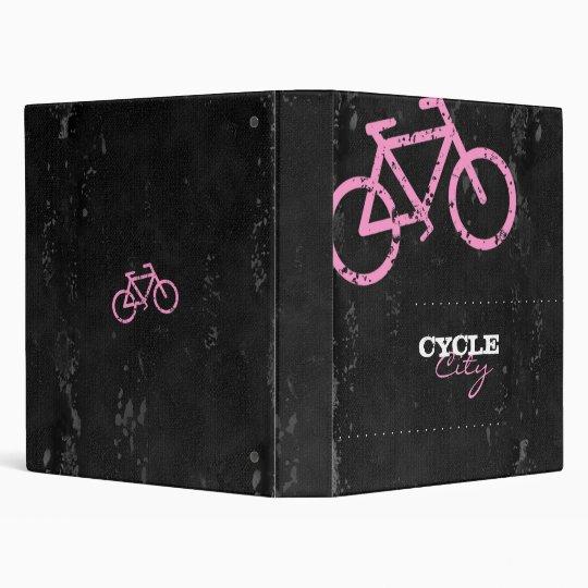 GC | Cycle City Concrete - Pink Vinyl Binders