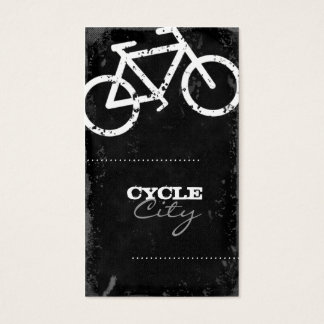 GC Cycle City Concrete - White Business Card