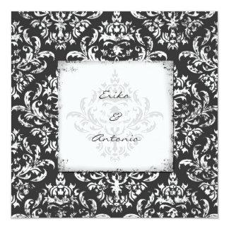 GC | Erika Vintage Damask-Gray Card