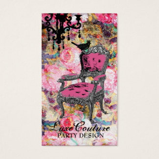 GC | Fabulously French Shabby Rose Business Card