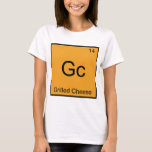 Gc - Grilled Cheese Funny Chemistry Element Symbol T-Shirt