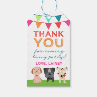 GC Kids Animal Pet Party Gift Tags