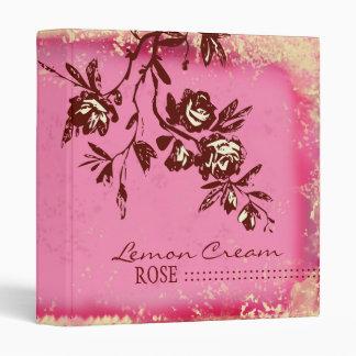 GC -Lemon Cream Rose Binder