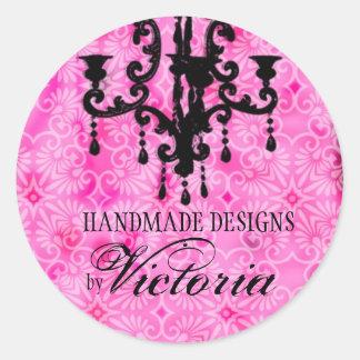 GC | Lustre Passione Pink Round Sticker