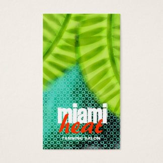GC | Miami Heat Wave Grunge Business Card