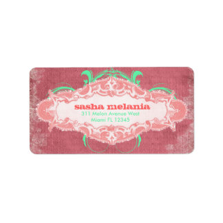 "GC | Modishly Melon  ""Aged"" Labels"
