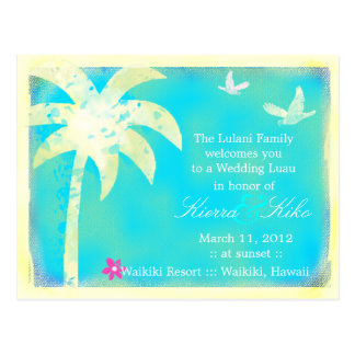 GC | Paradise Found Invitation Postcard