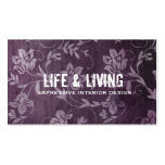 GC | Passionately Purple Business Card