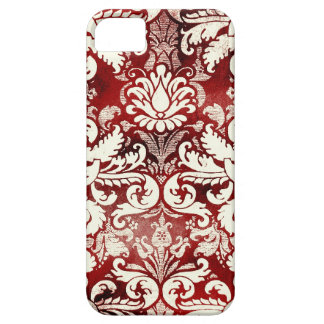 GC Red Velvet Cake Vintage Damask iphone 5 iPhone 5 Cover