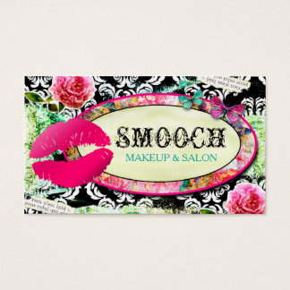 GC  Shabby Vintage Charm Smooch Business Card