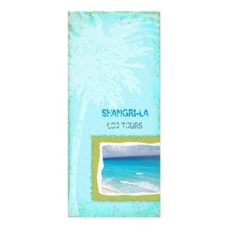 GC | Shangri-La Forever Turquoise Chubby Rack Card Design