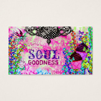 GC | Soul Goodness Cupcakes Business Card
