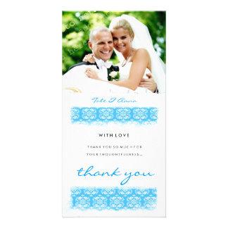 GC | Sweet Ocean Print Thank You Photo Greeting Card
