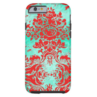 GC Vintage Turquoise Red Phone Case