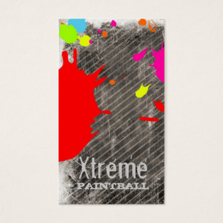 GC | Xtreme Paint Business Card