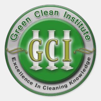 GCI communications Classic Round Sticker