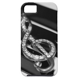 gclef and piano iphone case