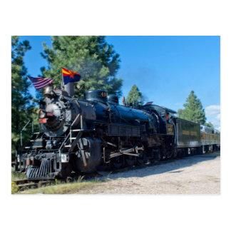 GCR 4960 at the Grandcanyon Postcard