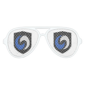 GCWX Adult Aviator Party Shades, White Party Shades