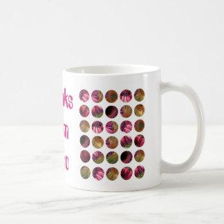 GDaisy! Thanks Mom! Classic White Coffee Mug