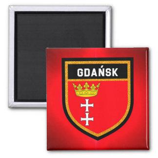 Gdańsk Flag Magnet