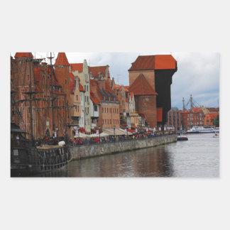 Gdansk, Poland Sticker