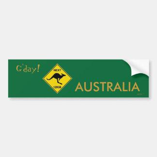 G'DAY AUSTRALIA Bumper Sticker