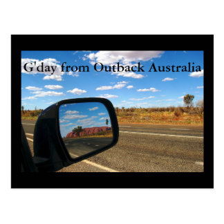 G'day from Outback Australia Postcard