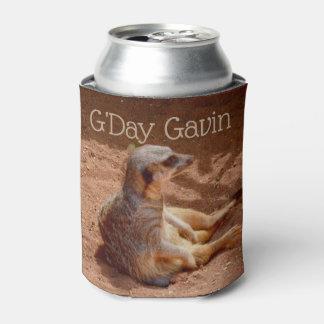 G'Day Gavin Meerkat Stubby Cooler, Can Cooler