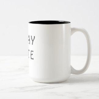 G'DAY MATE Two-Tone COFFEE MUG