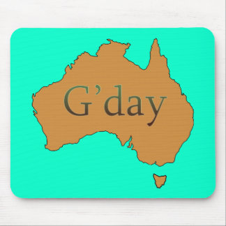 G'day Mouse Pad