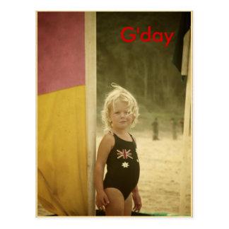 G'day Postcard