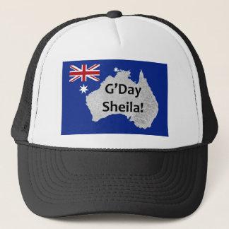 G'Day Sheila Australian Logo Hat