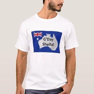 G'Day Sheila Australian Logo Man's T-Shirt