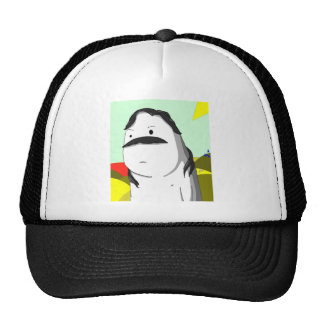 Gdragon funny abstract Niap trucker cap Trucker Hat