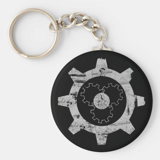 Gear Head Keychain