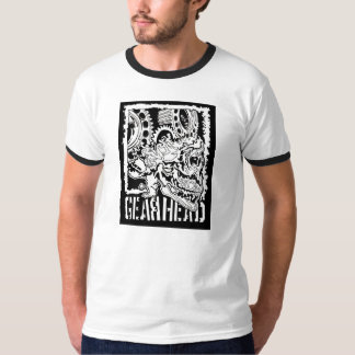 Gear Head Ringer T-Shirt