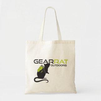 Gear Rat Logo tote simple