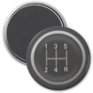 Gear Shift Knob for Nerd Geeks Magnet