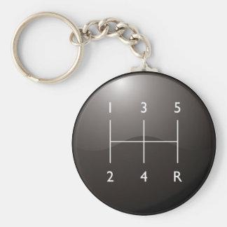 Gear Shifter Keychain