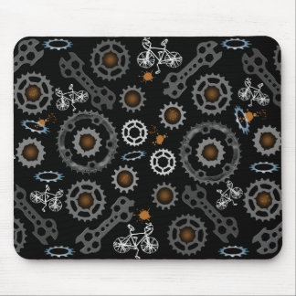 Gear up & go mouse pad
