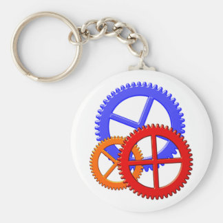 gear wheels pinion toothed wheel keychain
