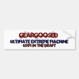 geargoosed bumper bumper sticker