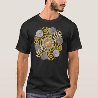 Gears and Cogs Mandala Design T-Shirt
