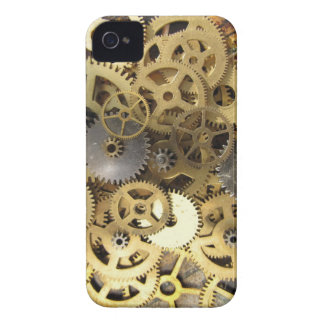 gears for the blackberry - steampunk blackberry iPhone 4 Case-Mate case