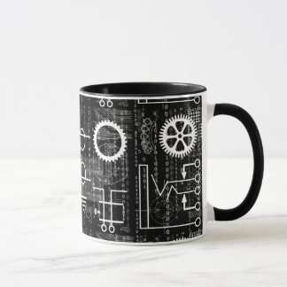 Gears Galore Tech Inspired Coffee Mug