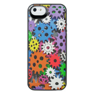 Gears, Gears and More Gears iPhone SE/5/5s Battery Case