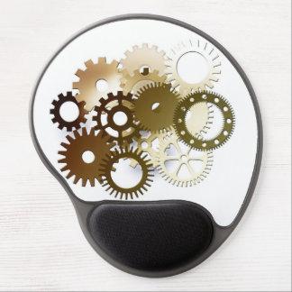 Gears Modern Design Gel Mousepad