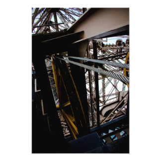 Gears of Eiffel Tower Photo Print