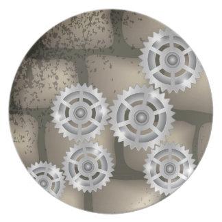 gears plate
